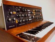 Minimoog Model D courtesy moogarchives.com